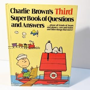 Charlie Browns Third Super Book of Questions